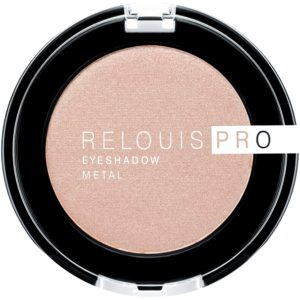 Relouis PRO - Тени для век Eyeshadow METAL