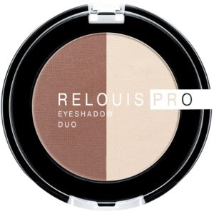 Relouis PRO - Тени для век Eyeshadow DUO двойные