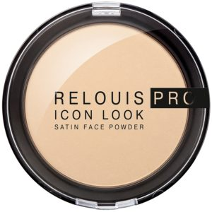 Relouis PRO - Пудра сатиновая Icon look Satin face